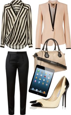 """Business Woman"" by crcockrell on Polyvore"
