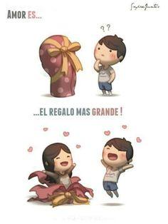 Amor es el regalo más grande
