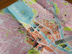 1950s Zurich map