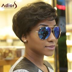 11.34$  Buy now - http://di2wz.justgood.pw/go.php?t=186347501 - Adiors Fluffy Curly Short Layered Synthetic Wigs 11.34$