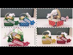 5 Minuten Goodie Mini Osterkörbchen gebastelt mit Stampin'Up! Produkten - YouTube