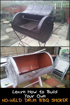 How to Build Your Own No-Weld Drum BBQ Smoker