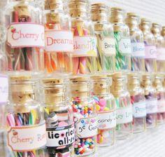3 Dollhouse Miniature Candy, Food, & Curiosity Jars - Blythe Candy Shop - Choose ANY 3
