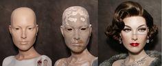 My restore Greneker Wolf and Vine Barbara Beautiful People BP1 by David Costa Dash N Dazzle