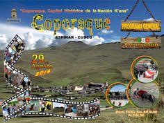 180 aniversario del distrito de Coporaque, provincia de Espinar - Cusco