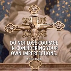 St. Francis reminds us to never be afraid to face our imperfections. #ReflectwithMystics #catholicmystics #saints