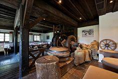 Restaurants im Feriendorf Kirchleitn - www.kirchleitn.com Firewood, Restaurants, Woodburning, Restaurant