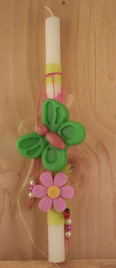 Easter Candle Πασχαλινή λαμπάδα με σαπούνι OLEA