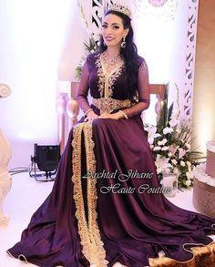 "54 Likes, 7 Comments - Jihane.Archtal-Couture (@jihane_archtal_caftan) on Instagram: ""My beautiful bride Sara avec une création Jihane Archtal Haute Couture…"""