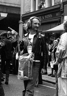 Holger Czukay, Notting Hill Carnival, 1978 // Photo: Tony Withers //