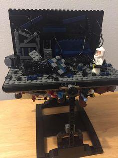 Stranger Things Lego Display - The Upside Down - Reddit