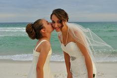 Beach wedding photography by Sia Cooper