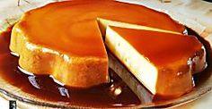 Pastel de naranja y caramelo (sin horno)