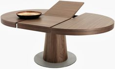 Express Traditions Devon Round Extension Dining Table In Rustic Java in sizing 1200 X 1200 Round Extension Dining Room Table Expandable Round Dining Table, Modern Extendable Dining Table, Round Dining Table Modern, Dining Table With Leaf, Dining Table Design, Dining Table In Kitchen, Dining Tables, Round Kitchen, Dining Nook