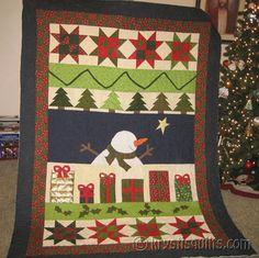 Snowman Christmas Quilt