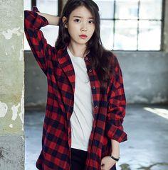 IU #kpics #kpop #sweetgirls #lovethem #love #unsensored #girls #sweet #sexygirls #selfie #women Iu Fashion, Korean Fashion, Fashion Looks, Fashion Outfits, Korean Girl, Asian Girl, Korean Style, Lee Hyun Woo, Grunge Girl