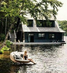Swing and water house
