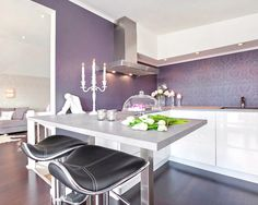 PANTONE Color of the Year 2014 - Radiant Orchid interior decor