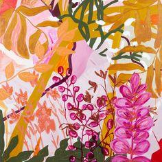 Shop Wild Floss - Print by Kate Mayes Art Furniture, Big Flowers, Painting Inspiration, Flower Prints, Illustration, Abstract Art, Original Art, Creations, Art Prints
