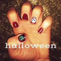 amazing halloween nail art - http://yournailart.com/amazing-halloween-nail-art-3/ - #nails #nail_art #nails_design #nail_ ideas #nail_polish #ideas #beauty #cute #love