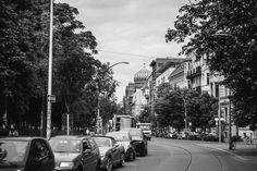 Oranienburger Strasse mit der neuen Synagoge (CC BY-NC-ND)