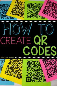 Have you ever wondered how TPT authors make those QR codes on their products? This teacher has put together a tutorial that is super easy to follow so you can start making your own QR codes!