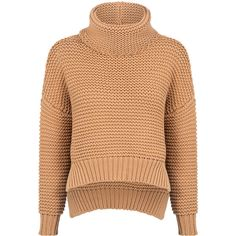 C/meo Collective - Limelight sweater ($265) ❤ liked on Polyvore featuring tops, sweaters, wrap top, knit sweater, oversized sweaters, beige sweater and cowl neck knit top