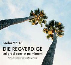 Psalm 92, Scripture Verses, Afrikaans, Quotes, Movie Posters, Quotations, Film Poster, Bible Verses, Afrikaans Language