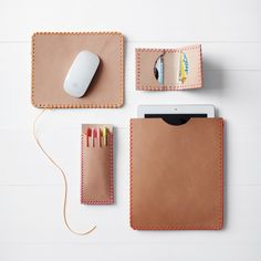 Camp-Inspired Leather Crafts