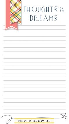 Free Planner/Filofax Printable!