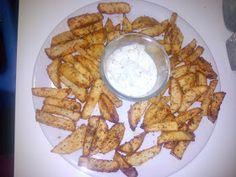 La cocinita de Cintia: recetas infantiles, BLW: Patatas deluxe con salsa