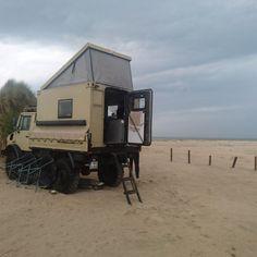 Unimog 1300L mit Funkcontainer / Ralf Radtke Off Road Camper, Truck Camper, Camper Van, Shelter, Adventure Campers, Expedition Vehicle, Camping Car, Land Rover Defender, Drip Coffee Maker