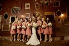 Vintage Lace Peach and Coral Cedarwood Wedding | #cedarwoodweddings #weddings #weddinginspiration