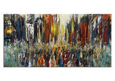 Modernes Gemälde von K. Namazi - Einzelstück! | Acrylbilder abstrakt / Acrylbilder Galerie / Kunst online kaufen