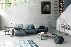 Das Kubi Sofa Von Novamobili Ist Eine Bequeme Minimalistische  Wohnlandschaft In Sanften Farbtönen. #Sofa #Ecksofa #Couch #rose #pink  #Wohnlanu2026