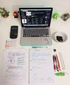 sturdystudy:  Feeling quite productive today, completed all my physics notes and homework :) i love physics but it's my weakest subject sigh