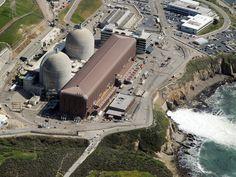 Diablo Canyon Nuclear Power Plant, Avila Beach, California, built directly over a geological fault line