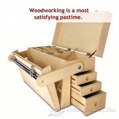10 great websites that have free furniture plans #tablesaw Cnc Woodworking, Woodworking Projects, Woodworking Patterns, Woodworking Classes, Popular Woodworking, Woodworking Magazine, Woodworking Furniture, Wooden Tool Boxes, Wood Tool Box
