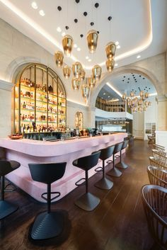 Bronte, le nouveau restaurant signé Tom Dixon à Londres | tatarartprojects.ca #tatarartprojects