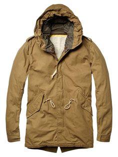 Long summer parka - Jackets - Official Scotch & Soda Online Fashion & Apparel Shops
