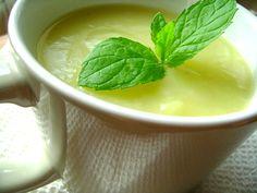 Zupa krem ziemniaczana z ziołami
