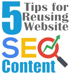 If your website content truly holds value to website visitors and searches there are a few SEO tasks you can complete to repurpose the pages for a boost in exposure and internet marketing. Seo Tutorial, Search Engine Optimization, Internet Marketing, Repurposed, Content, Writing, Website, Learning, Words