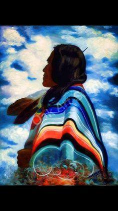 Nativ American Art. Artist unknown