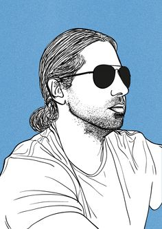 I can draw your portrait in my own vector style for €25. My #Hourlie on #PeoplePerHour.