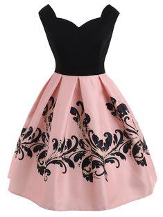 Vintage dresses online - Summer Vintage Dress Light Pink Size S – Vintage dresses online Elegant Dresses, Pretty Dresses, Beautiful Dresses, Casual Dresses, Short Dresses, Fashion Dresses, Dresses Dresses, Formal Dresses, Cute Cheap Dresses