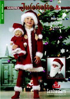 Julekjole til dukke