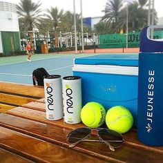 Game. Set. Match! #Nevo  Whether you're on or off the court, stay #poweredbyNevo!  photo by: IG @livebetterway