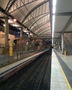 Sydney Olympic Park Station Showing The Barcelona Platforms From Platform