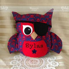 Pirate owl softie