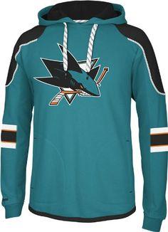 NHL San Jose Sharks Men s Edge Team Hooded Jersey 61c652feeb5